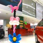 Balloon Flamingo Sculpture