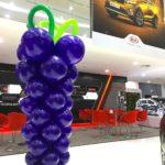 Balloon Grape Sculpture