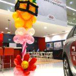 Balloon Pineapple Sculpture