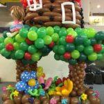 Balloon Tree House Sculpture