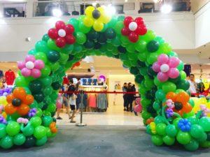 Garden Balloon Tunnel Singapore