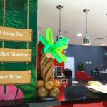 Mini Balloon Tree on Bar Counter