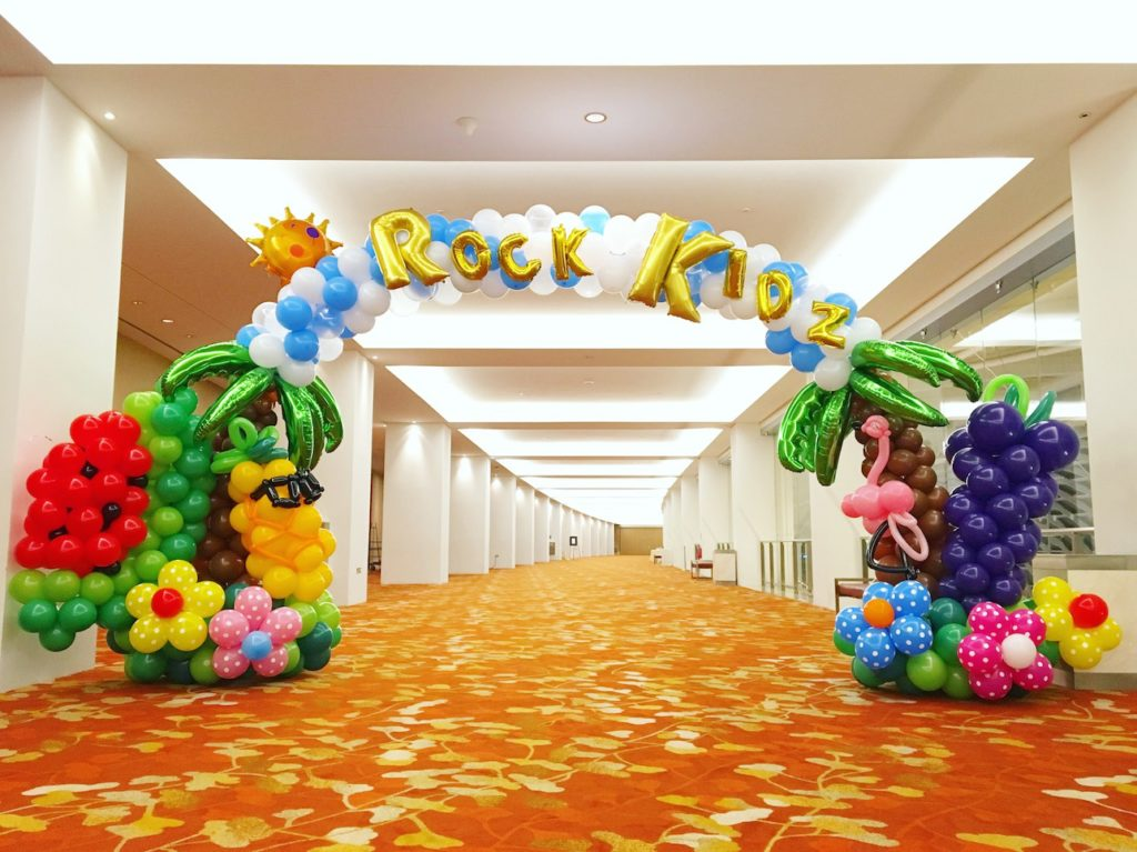 Summer Balloon Arch Decoration