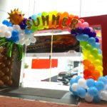Summer Theme Balloon Arch Decorations