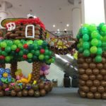 Treehouse Balloon Sculpture Decoration