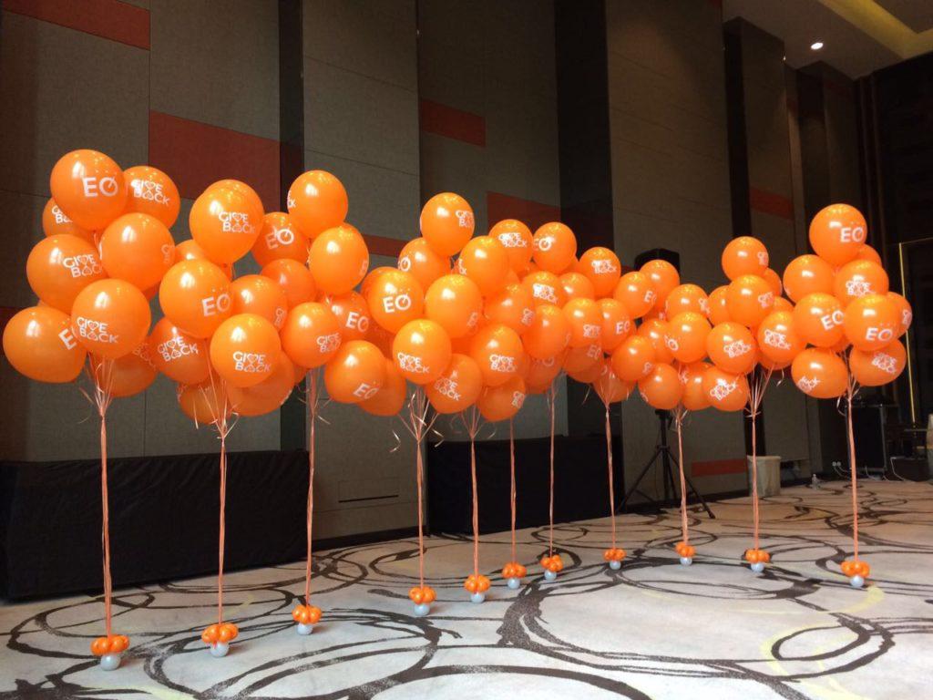 Cutom Print Helium Balloons Bundles
