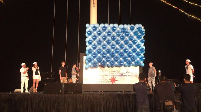 Product Launch with Balloon Wall