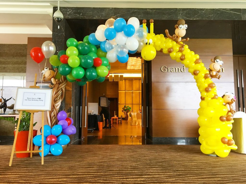 Balloon Arch for birthday party