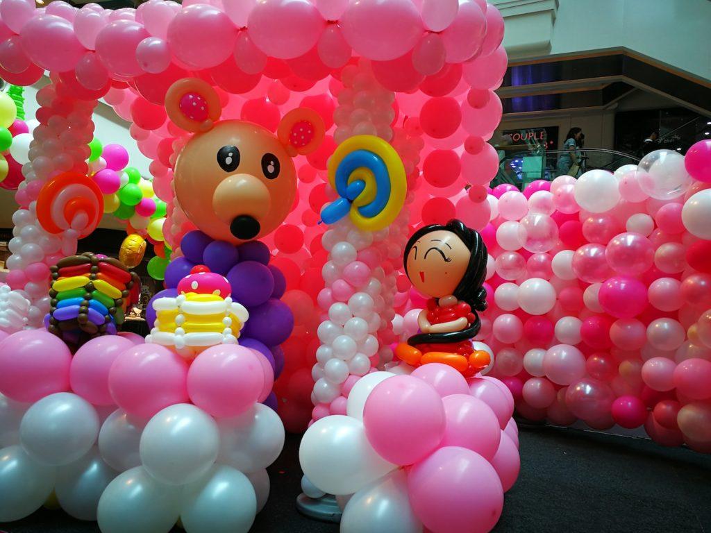 Balloon Decoration at Plaza Singapura