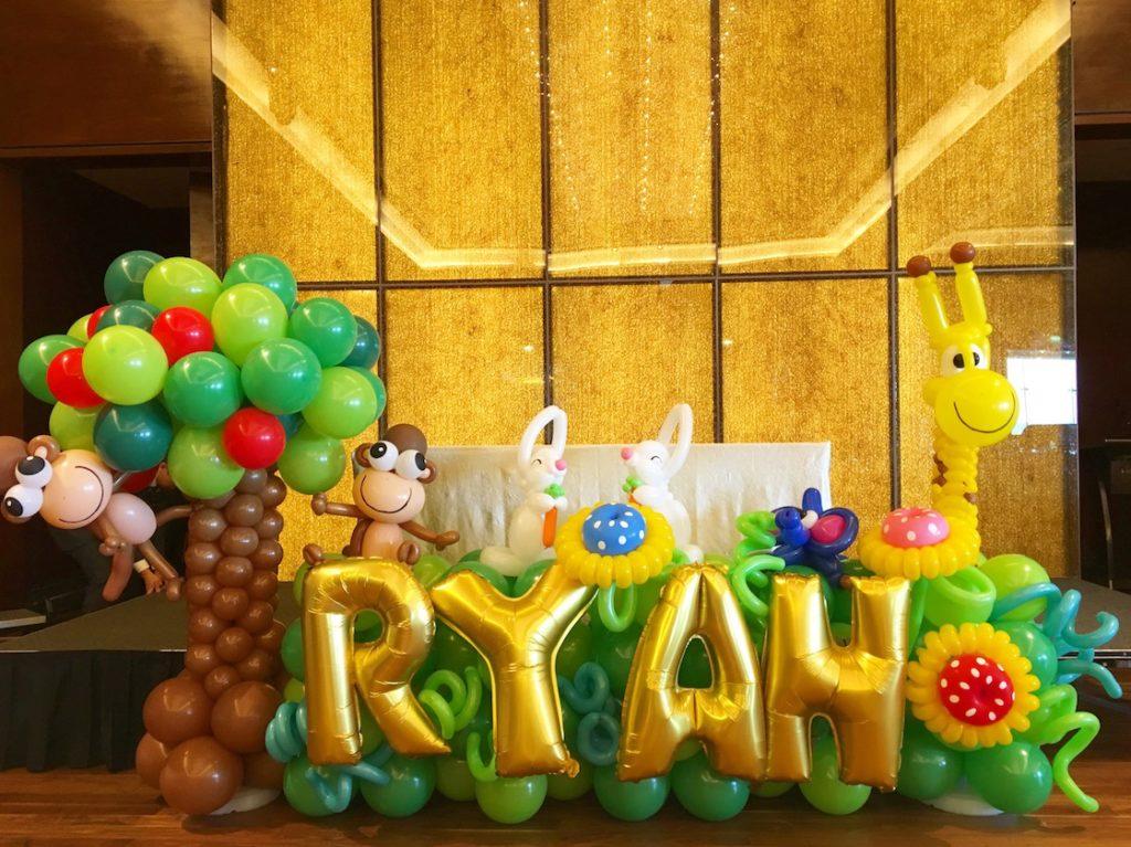 Balloon Dessert Table Display