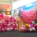 Balloon Stage Deco Shopping Mall