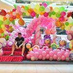 Shopping Mall Balloon Decorations