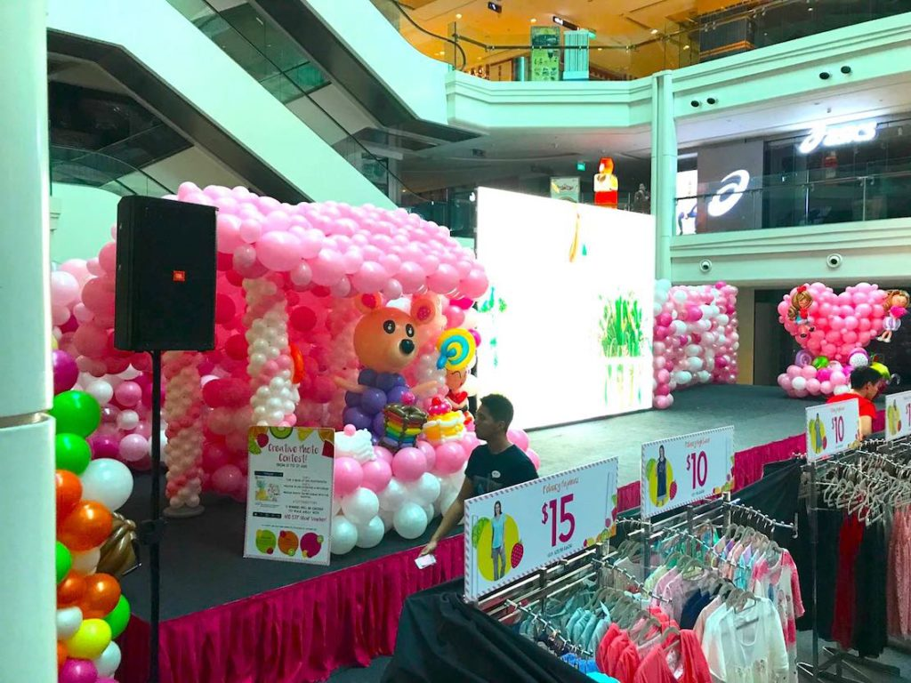 Balloon arch that balloons for Balloon decoration for stage