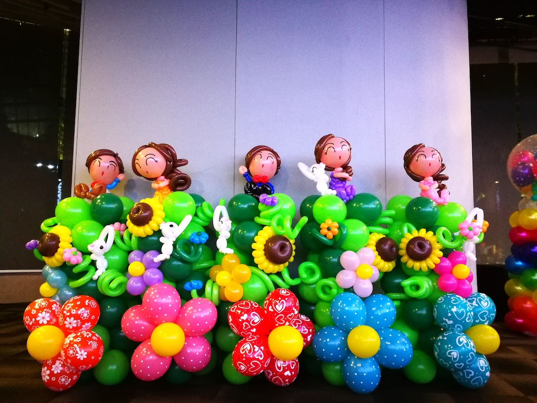 Edf that balloons for Balloon decoration company