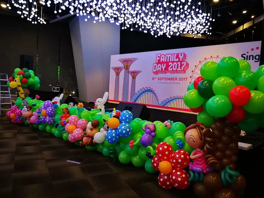 Sdr that balloons for Balloon decoration company
