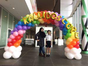 Rainbow Balloon Arch Singapore