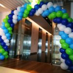 Spiral Balloon Arch Singapore