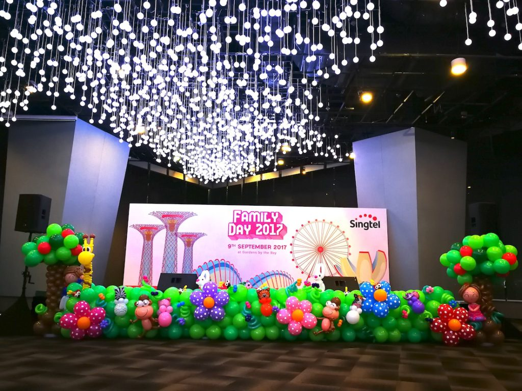 Singapore premium balloon services that balloons for Balloon decoration for corporate events