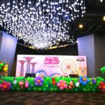 Stage front Balloon Decorations