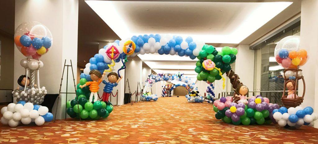 Balloon Arches at MBS New Creation Church