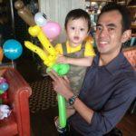 Balloon Giraffe Sculpture Birthday Party