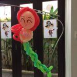 Balloon Mermaid Sculpture