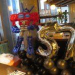 Balloon Robot Sculpture