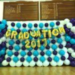 Graduation Balloon Backdrop Decoration