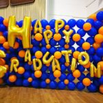 Happy Graduation Balloon Backdrop Display
