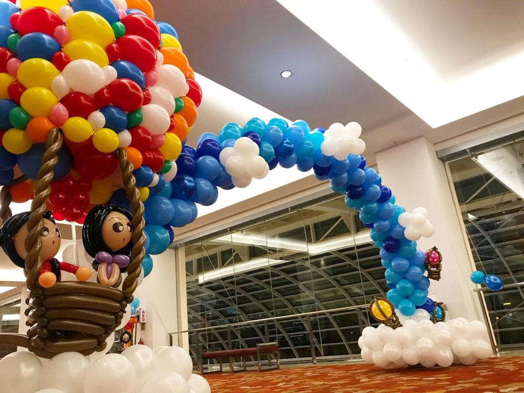 Hotair Balloon Sculpture Arch
