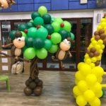 Balloon Monkey on Tree