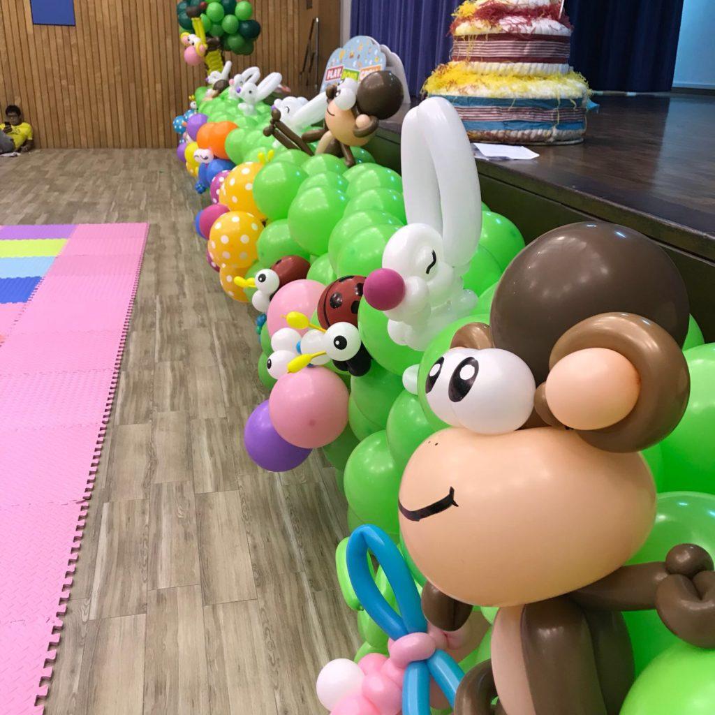 Safari Balloon Decoration