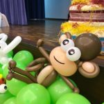 Singapore Monkey Balloon Sculpture