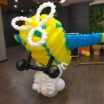 Balloon Aeroplane Sculpture copy