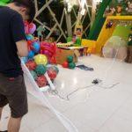 Balloons Drop Net set up copy