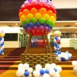 Giant Hotair Balloon Sculpture