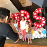 Photobooth with Balloon Backdrop