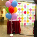 Rainbow Helium Balloon Bundle