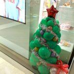 Small Balloon Christmas Tree Sculpture for Fendi