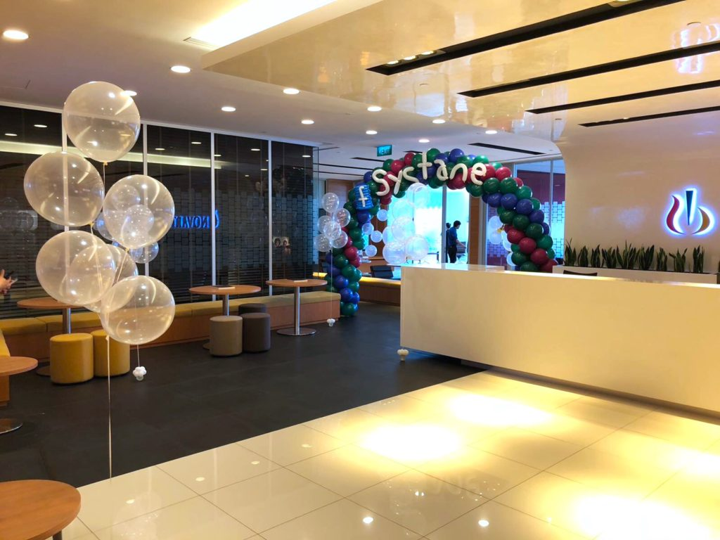 Balloon Decoration for Systane