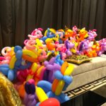Balloon little pony sculpture