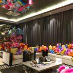 Balloon unicorn party