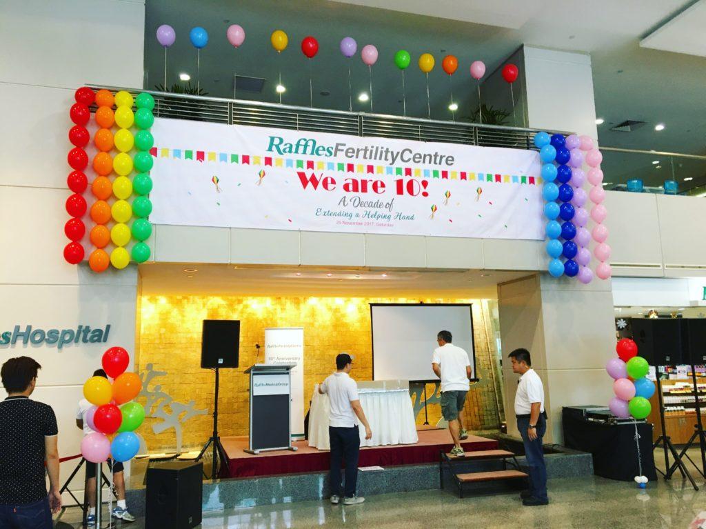 Rainbow Balloon Decoration