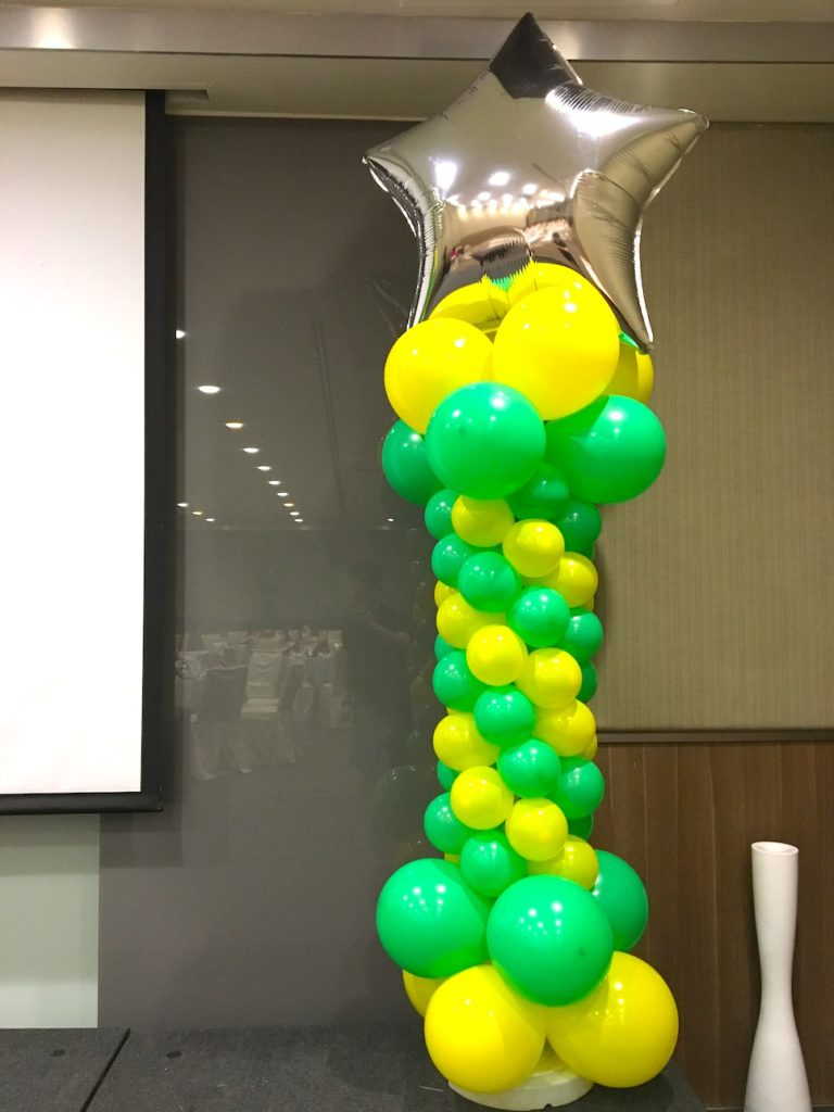 Star Balloon Pillar copy