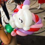 Unicorn Balloon Sculpture Birthday Party