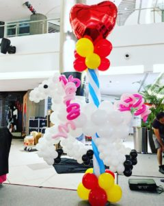 Balloon Carousel Horse Decoration