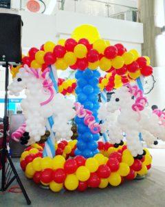 Balloon Horse Carousel Decoration