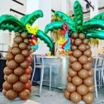 Balloon Palm Tree Decoration