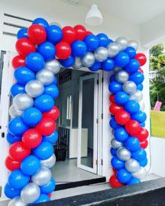 Balloon Rectangle Arch