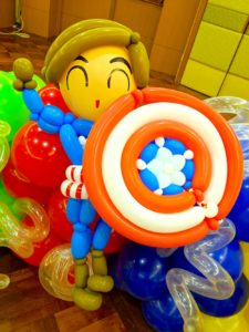 Captain America Balloon Sculpture